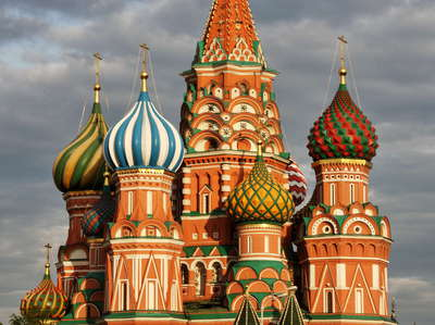 Moscow  |  St. Basil's Cathedral