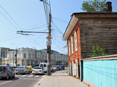 Irkutsk  |  Wooden architecture