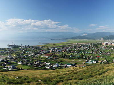 Lake Baikal  |  Kultuk panorama