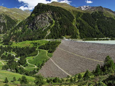 Kaunertal | Dam of Gepatsch Reservoir