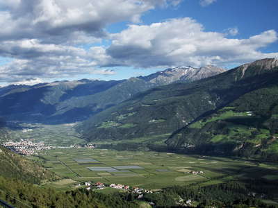 Vinschgau Valley with Schlanders