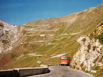 Passo dello Stelvio - northeastern ramp