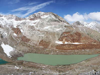 Ridnauntal - panorama of glacial lakes