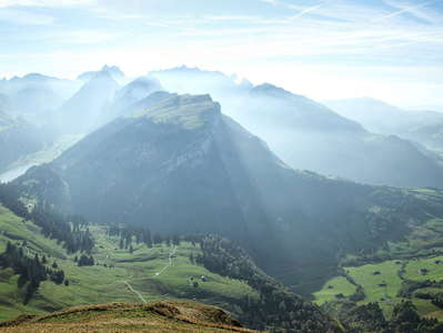 Alpstein Mountains and Appenzellerland
