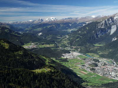 Rheintal Valley with Flims-Tamins System