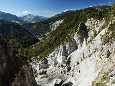 Flims Rock Slide  |  Ruinaulta