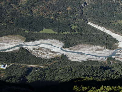 Lechtal Valley  |  Braided river