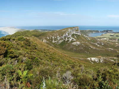 Puponga and Farewell Spit  |  Panorama