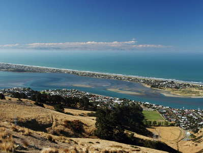 Christchurch  |  Brighton Spit and Pegasus Bay