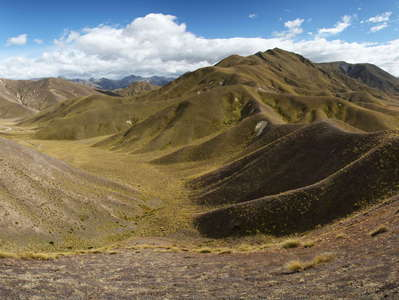 Lindis Pass  |  Panorama