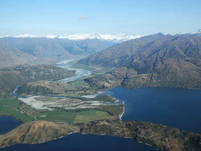 Lake Wanaka and Matukituki Valley