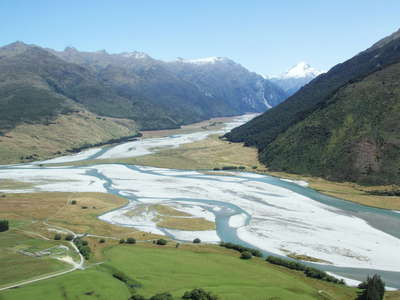 Makarora  |  Braided river systems