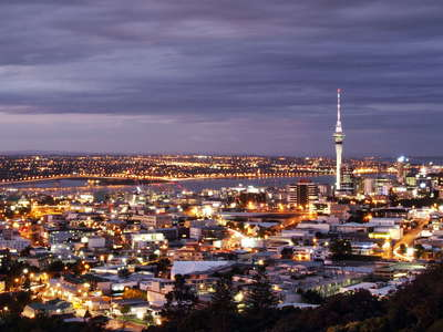Auckland  |  Night panorama