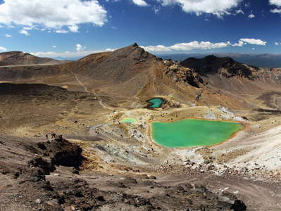 Tongariro NP  |  Emerald Lakes and Central Crater