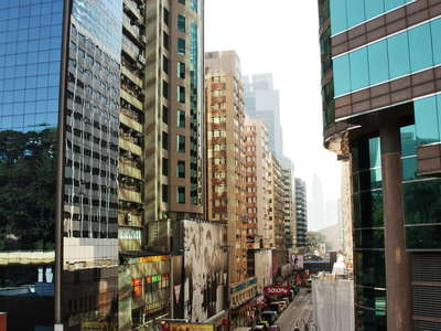 Hong Kong  |  Canton Road