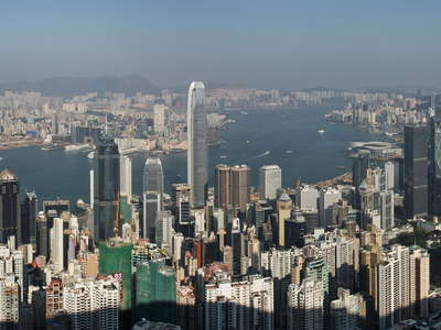 Hong Kong  |  City panorama