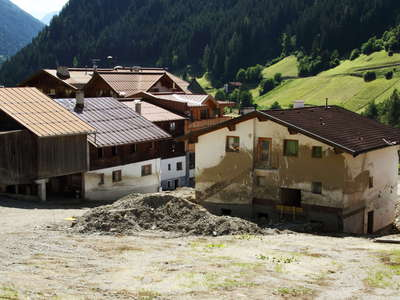See im Paznauntal | Consequences of debris flow