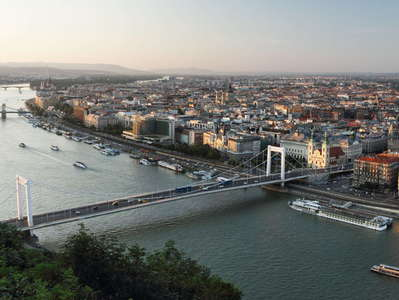 Budapest  |  Early evening panorama