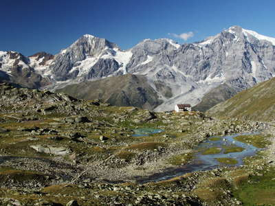 Ortler Mountains  |  Panorama