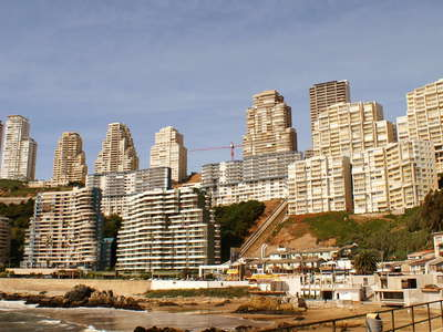 Viña del Mar  |  Apartment towers