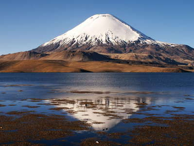PN Lauca  |  Lago Chungará and Volcán Parinacota
