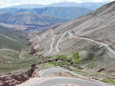 Quebradilla de Purmamarca with Highway 52