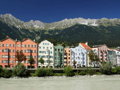 Innsbruck | Hötting with Karwendel Mountains