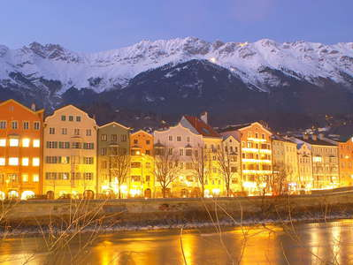 Innsbruck  |  Hoetting with Karwendel Mountains