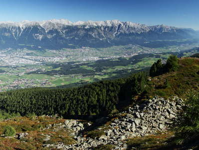 Lower Inntal Valley with Innsbruck