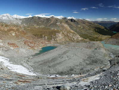 Zufallferner  |  Forefield with glacial lakes