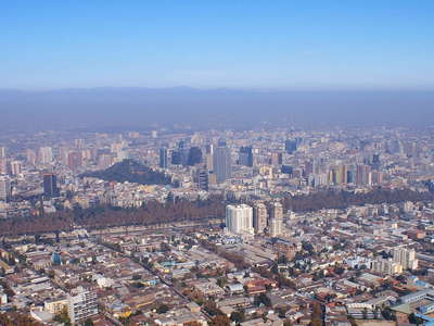Santiago de Chile  |  Panoramic view