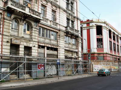 Valparaíso  |  Earthquake damages