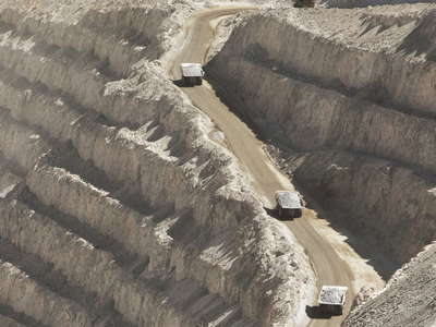 Chuquicamata  |  Transport of copper ore