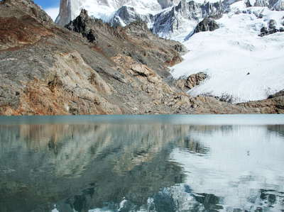 PN Los Glaciares  |  Reflection of Monte Fitz Roy