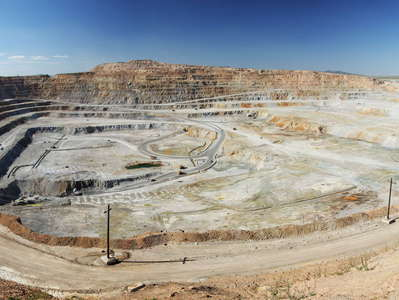 Erdenet  |  Panorama of copper mine
