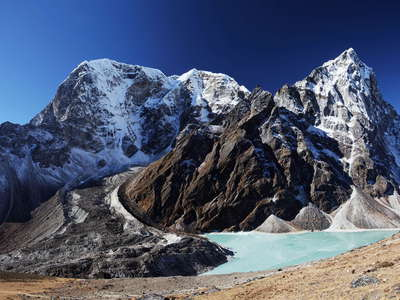 Chola Glacier and Chola Tsho