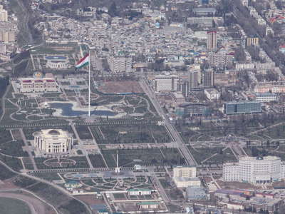 Dushanbe  |  City centre