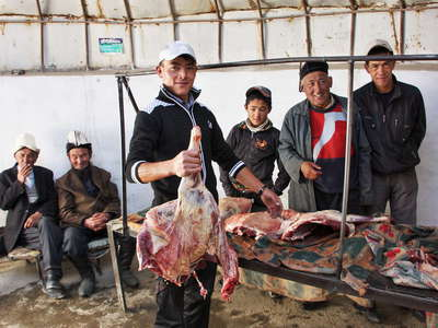Murghab  |  Meat market