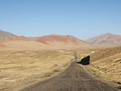 Akbaital Valley with Pamir Highway