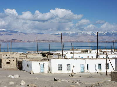 Karakul  |  Village and lake