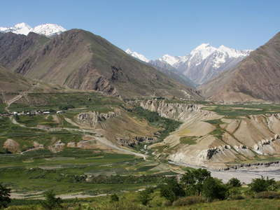 Zarafshan Valley with Hissar Range