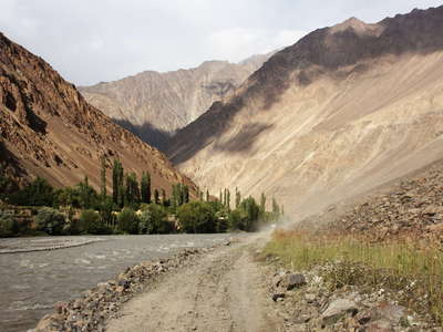Bartang Valley  |  Main Road
