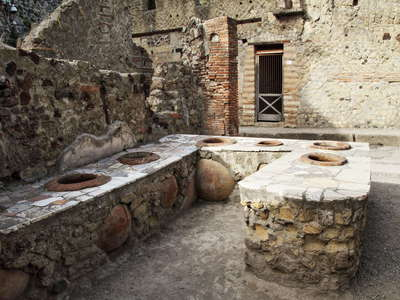 Herculaneum | Cooking place