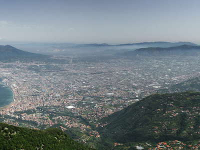Vesuvio and surroundings | Panoramic view