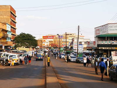 Nyeri  |  City centre
