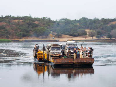 Murchison Falls NP  |  Paraa ferry crossing