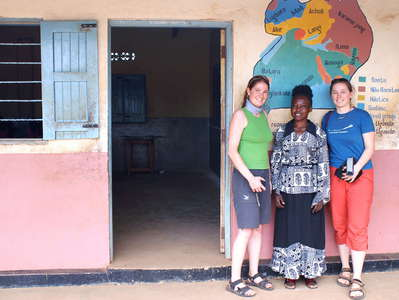 Western Uganda  |  School with teacher