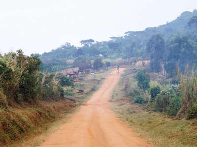 Western Uganda  |  On the road