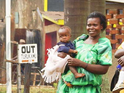 Fort Portal  |  Women with babies