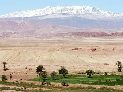 Oued El Malleh and High Atlas
